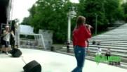 Fresh IVY & KRISTO репетират на сцената на Летния театър