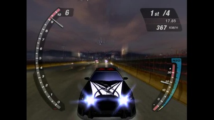 Need For Speed Underground2 - Drag With Skyline Gt - R