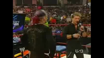 Wwe - Jeff Hardy И Chris Jericho Спорят