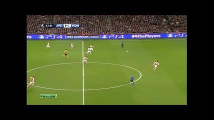 Бербатов наказа Арсенал при победа на Монако с 3:1