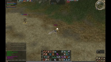 Lineage 2 Goddess of Destruction Berserker vs Warlord Rund 1