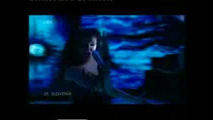 Аленка Готар - Cvet Z Juga (евровизия - Словения)