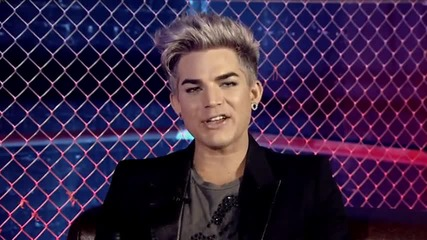 Adam Lambert - Trespassing - Australiatake 40 Live Lounge 2012 (part 1)
