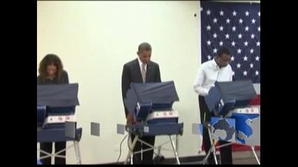 Драмата в САЩ свърши, Обама ще е президент още един мандат