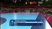 Олимпийски игри 2012 - Хандбал Жени Бразилия - Ангола група А