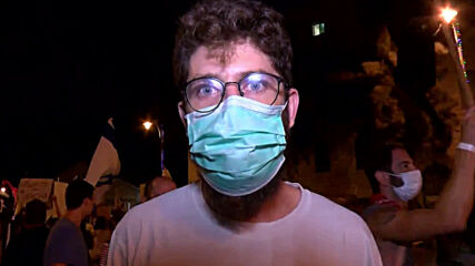 Israel: Police arrest protesters outside Netanyahu's residence in Jerusalem