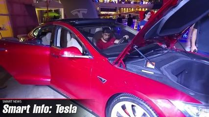 Първа среща с Tesla Model S