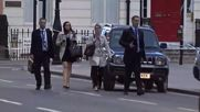 UK: Forensic officers examine body of stabbing victim in central London