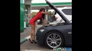 Казаха и да сипе малко масло на мотора