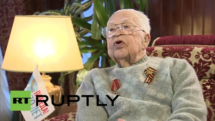 Russia: US WWII veteran recalls Elbe link-up with Red Army