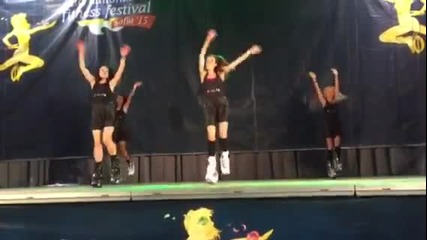 Team Kamato на Mеждународния фестивал по Kangoo Jumps - 2015