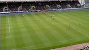 Арсенал се справи с Бърнли в мач от 32-ия кръг на Висшата лига