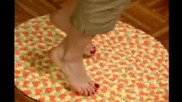 Използване на рециклирани ленти от стари кърпи за баня: финалното творение е невероятно