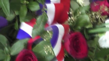 France: Relatives visit memorial of Germanwings crash one year on