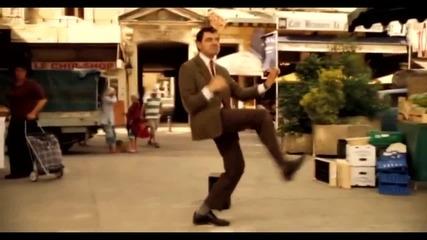 Mr. Bean танцува на Dubstep