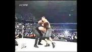 WWE - The Undertaker Chokeslams RVD & Tombstones John Cena