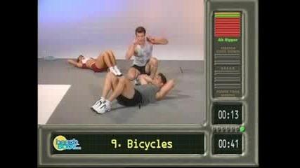 10 Упражнения За Стегнат Корем