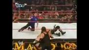 Острието срещу Батиста срещу Гробаря - мач за световната титла в тежка категория тройна заплаха