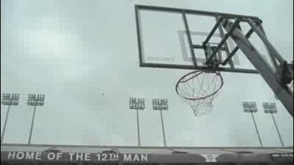 Worlds Longest Basketball Shot _ Field View _ Dude Perfect