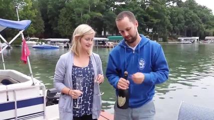 Как Не трябва да отваряме шампанско