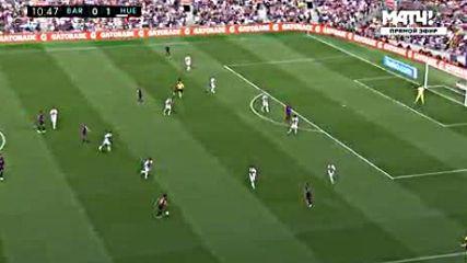 Primera Division 2018_2019 3. Round Fc Barcelona vs Sd Huesca 1 тайм