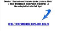 Fibromialgia Puntos Dolorosos, Ejercicios Para Fibromialgia, Test Fibromialgia, Aliviar El Dolor