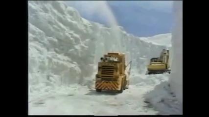 Как се почиства сняг в Япония?