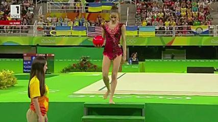 Невяна Владинова - топка- финал - Рио 2016
