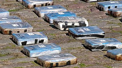 Argentina: Record Russian embassy cocaine-haul incinerated