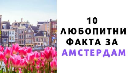 10 любопитни факта за Амстердам