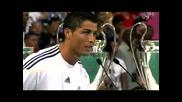 Официалното представянане на Kристиано Роналдо в Реал Мадрид