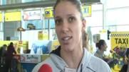 Волейболиските от националния тим се прибраха в Българият