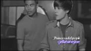 Толкова красиво видео.. Justin Bieber & Miley Cyrus - Just a Dream.. ^^