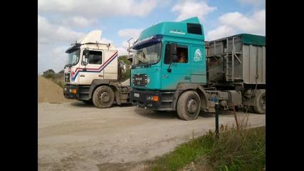 Snimki na kamioni ot Bulgaria