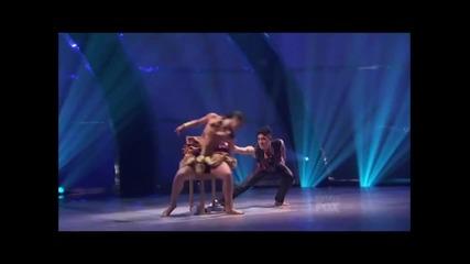 Тад и Елинор - танц с полилей (джаз)