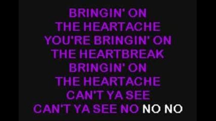 Def Leppard - Bringin On The Heartbreak / Karaoke