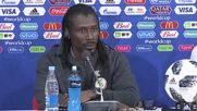 Russia: Senegal coach Cisse confident ahead of Poland clash