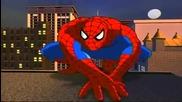 Епичните отварящи заглавия на анимацията Спайдър - Мен (1994-1998)