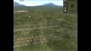 Medieval 2 Total War Online Battle #047 Sicily & Scotland vs France & Papal State