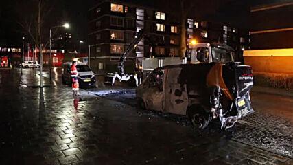 Netherlands: Clean-up underway in Haarlem after night of anti-curfew riots