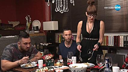 Деси Тенекеджиева посреща гости в