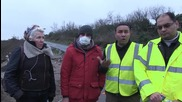 France: Corbyn hailed by camp residents following Calais visit