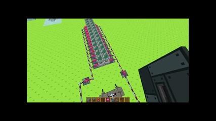 Kerosenebg Minecraft как се прави(redstone мост)