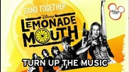 full song lemonade mouth - turn up the music