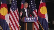 USA: Sanders 'sold his soul to the devil' - Trump in Denver