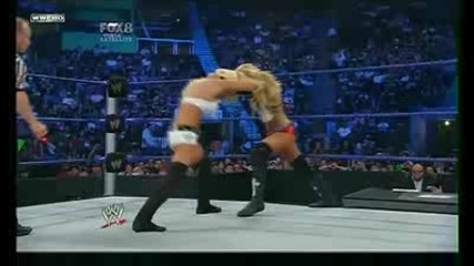 Divas Championship Match: Maryse vs. Michelle Mccool (gail Kim Return)