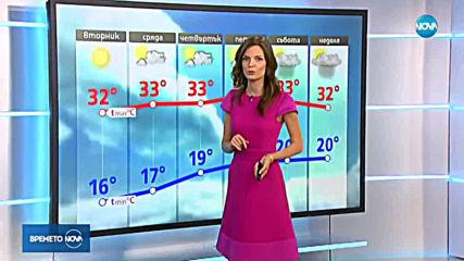 Прогноза за времето (20.08.2019 - обедна емисия)