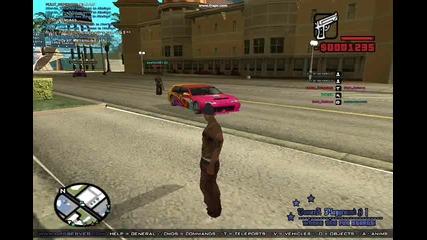 една кола се движи сама в Gta San Andreas