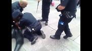 Спайдармен в ръцете на Полицията