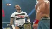 Cm punk returns Wwe Raw